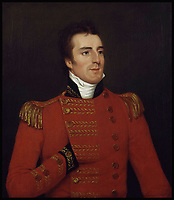 BNPS.co.uk (01202 558833)<br /> Pic: Wikipedia<br /> <br /> Colonel Arthur Wellesley (Later Duke of Wellington) led the 1799 attack on Seringapatam early in his career.<br /> <br /> Stunning artefacts from Indian hero Tipu Sultan's fateful last stand have been rediscovered by the family of an East India Company Major who took part in the famous battle that ended his reign.<br /> <br /> And now Major Thomas Hart's lucky descendents are likely to become overnight millionaires after retrieving the historic items from their dusty attic.<br /> <br /> The fascinating treasures were taken from Tipu's captured fortress of Seringapatam in the wake of his defeat by British forces led by a young Duke of Wellington in 1799.<br /> <br /> The cache of ornate gold arms and personal effects even include's the battle damaged musket the Sultan used in his fatal last stand against the expanding British Empire in India.<br /> <br /> Tipu was last seen on the battlements of the fortress firing his hunting musket at the advancing British and after the fierce encounter his body was found bearing many wounds, including a musket ball shot above his right eye.<br /> <br /> The rediscovered musket, complete with battle damaged bayonet, has the distinctive tiger stripe pattern unique to the self styled Tiger of Mysore own weapons - and tellingly there is also shot damage to the lock and stock that may have been caused by the musket ball that finished him off.<br /> <br /> Also included in the sale are four ornate gold-encrusted sword's bearing the mark of Haider Ali Khan, Tipu's father and the previous ruler of independent Mysore, along with a solid gold &lsquo;betel casket&rsquo; complete with three 220 year old nuts still inside.<br /> <br /> The war booty was brought back to Britain by Major Thomas Hart of the British East India Company following the fourth and final Anglo-Mysore war.<br /> <br /> They have been passed down through the family ever since and now belong to a couple who have kept them wrapped in newspaper in the dusty attic of their semi-detached home for years.