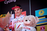 podium with race winner Attilio Viviani (ITA/Cofidis) <br /> <br /> 94th Schaal Sels 2019<br /> One Day Race: Merksem  >  Merksem  (UCI 1.1)<br /> ©kramon