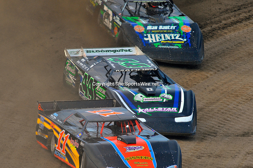 Jun 6, 2009; 7:22:42 PM; Rossburg, OH., USA; The running of the Dream XV  Dirt Late Models at the Eldora Speedway.  Mandatory Credit: (thesportswire.net)