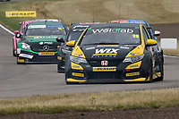 #39 Brett Smith WIX Racing with Eurotech Honda Civic Type R (FK2) during BTCC Race 2  as part of the Dunlop MSA British Touring Car Championship - Rockingham 2018 at Rockingham, Corby, Northamptonshire, United Kingdom. August 12 2018. World Copyright Peter Taylor/PSP. Copy of publication required for printed pictures.