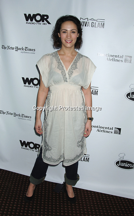 Eden Espinosa of Wicked..at The 20th Annual Broadway Cares/Equity Fights Aids Broadway Flea Market, Celebrity Autograph Table and Grand Auction on September 24, 2006 at Shubert Alley...Robin Platzer, Twin Images