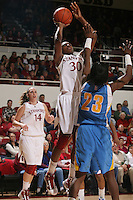 STANFORD, CA - FEBRUARY 4:  Nnemkadi Ogwumike of the Stanford Cardinal during Stanford's 74-53 win over UCLA on February 4, 2010 at Maples Pavilion in Stanford, California.