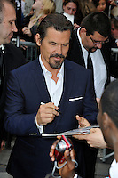 News Pictures--- PARIS, FRANCE - MAY 11: US actor Josh Brolin attends the 'Men in Black 3' (MIB 3) european film premiere at 'Le Grand Rex', on May 11, 2012 in Paris, France. Local Caption Josh Brolin  .. Credit: Edouard Bernaux/News Pictures/MediaPunch Inc. ***FOR USA ONLY***