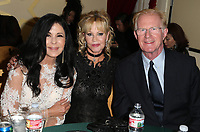 HOLLWOOD, CA - October 08: María Conchita Alonso, Melanie Griffith, Ed Begley Jr., At 4th Annual CineFashion Film Awards_Inside At On El Capitan Theatre In California on October 08, 2017. Credit: FayeS/MediaPunch
