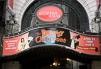 The Opera House theater Boston Massachusetts