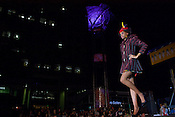 September 17, 2010.  Raleigh, North Carolina..Tyra Green walked the runway in her outfit designed by Domino.