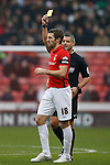 Sam Ricketts of Coventry City receives his first yellow card - English League One - Sheffield Utd vs Coventry City - Bramall Lane Stadium - Sheffield - England - 13th December 2015 - Pic Simon Bellis/Sportimage-