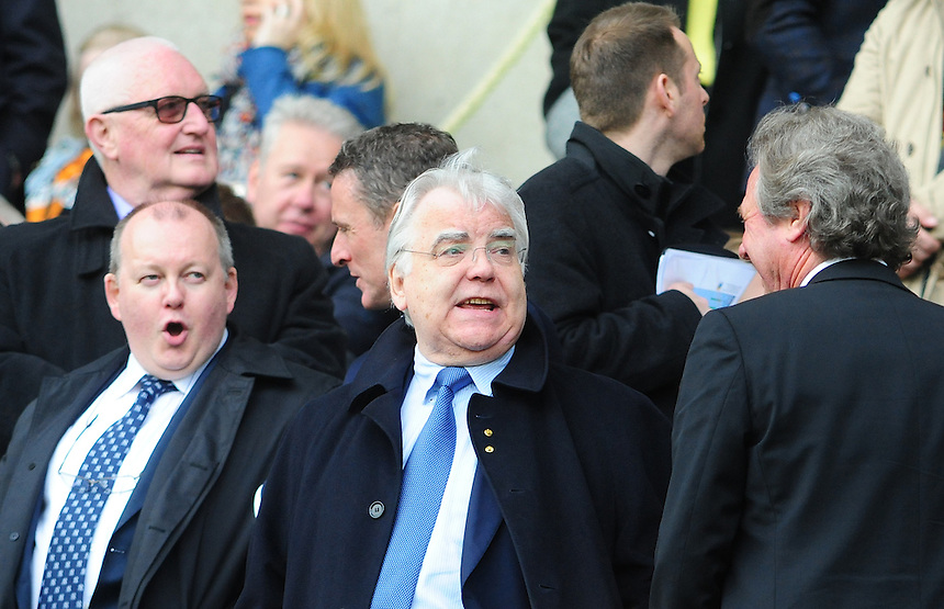 Everton chairman Bill Kenwright<br /> <br /> Photographer Chris Vaughan/CameraSport<br /> <br /> Football - Barclays Premiership - Hull City v Everton - Sunday 11th May 2014 - Kingston Communications Stadium - Hull<br /> <br /> &copy; CameraSport - 43 Linden Ave. Countesthorpe. Leicester. England. LE8 5PG - Tel: +44 (0) 116 277 4147 - admin@camerasport.com - www.camerasport.com