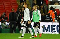 Timo Werner (Deutschland, Germany), Marcel Halstenberg (Deutschland Germany) - 10.11.2017: England vs. Deutschland, Freundschaftsspiel, Wembley Stadium