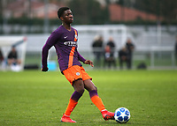 Taylor Richards of Manchester City U19's during Lyon Under-19 vs Manchester City Under-19, UEFA Youth League Football at Groupama OL Academy on 27th November 2018