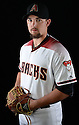 Arizona Diamondbacks Zack Godley (52) during photo day on February 28, 2016 in Scottsdale, AZ.