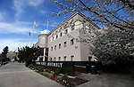 The Legislative Building in Carson City, Nev., on Wednesday, April 3, 2013..Photo by Cathleen Allison