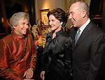Anne Mendelsohn with Beth and Jess Moore at the M.D. Anderson benefit held honoring the Fourticqs Thursday Dec. 13,2006.(Dave Rossman/For the Chronicle)<br />