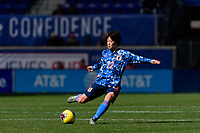 HARRISON, NJ - MARCH 08: Mayo Doko #22 of Japan during a game between England and Japan at Red Bull Arena on March 08, 2020 in Harrison, New Jersey.