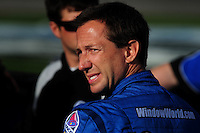 Feb. 27, 2009; Las Vegas, NV, USA; NASCAR Sprint Cup Series driver John Andretti during qualifying for the Shelby 427 at Las Vegas Motor Speedway. Mandatory Credit: Mark J. Rebilas-