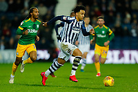 25th February 2020; The Hawthorns, West Bromwich, West Midlands, England; English Championship Football, West Bromwich Albion versus Preston North End; Matheus Pereira of West Bromwich Albion on the ball