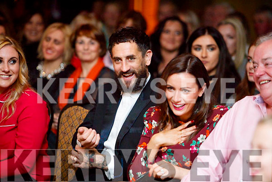 Paul Galvin and Louise Duffy pictured at the Dunnes Stores and Paul Galvin Shelby Autumn Winter Fashion Show, held at the Brandon Hotel, Tralee on Friday night last.