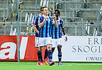 Stockholm 2014-03-09 Fotboll Svenska Cupen Djurg&aring;rdens IF - Assyriska FF :  <br /> Djurg&aring;rdens Andreas Johansson jublar efter sitt 1-0 m&aring;l<br /> (Foto: Kenta J&ouml;nsson) Nyckelord:  Djurg&aring;rden jubel gl&auml;dje lycka glad happy