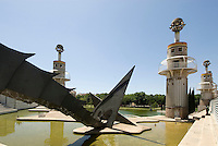 Parc de l'Espanya Industrial, Barcelona, Spanien