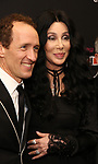 """Jeffrey Seller and Cher attends the Broadway Opening Night Performance of """"The Cher Show""""  at the Neil Simon Theatre on December 3, 2018 in New York City."""