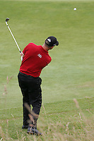 Soren Hansen chips onto the 14th green during the 3rd round of the 2008 Open de France Alstom at Golf National, Paris, France June 28th 2008 (Photo by Eoin Clarke/GOLFFILE)