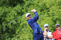 Jimmy Walker US Team tees off the 10th tee during Thursday's Practice Day of the 41st RyderCup held at Hazeltine National Golf Club, Chaska, Minnesota, USA. 29th September 2016.<br /> Picture: Eoin Clarke | Golffile<br /> <br /> <br /> All photos usage must carry mandatory copyright credit (&copy; Golffile | Eoin Clarke)