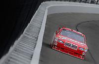 Oct. 3, 2009; Kansas City, KS, USA; Nascar Sprint Cup Series driver Kasey Kahne during practice for the Price Chopper 400 at Kansas Speedway. Mandatory Credit: Mark J. Rebilas-