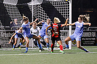Rochester, NY - Friday July 01, 2016: Western New York Flash forward Lynn Williams (9)  during a regular season National Women's Soccer League (NWSL) match between the Western New York Flash and the Chicago Red Stars at Rochester Rhinos Stadium.