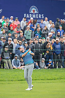 26th January 2020, Torrey Pines, La Jolla, San Diego, CA USA;  Marc Leishman final aproach shot on the 18th hole during the final round of the Farmers Insurance Open at Torrey Pines Golf Club on January 26, 2020 in La Jolla, California.