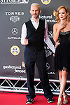 """British actor Dominic Monaghan attends to the red carpet of the presentation during the presentation of the film  """"Pet"""" at Festival de Cine Fantastico de Sitges in Barcelona. October 11, Spain. 2016. (ALTERPHOTOS/BorjaB.Hojas)"""