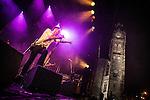 © Joel Goodman - 07973 332324 . 31/08/2013 . Rochdale , UK . Dan Gillespie Sells . The Feeling perform at a free gig in Rochdale . Photo credit : Joel Goodman