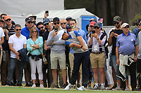 Xander Schauffele (USA) on the 10th fairway during the Second Round - Foursomes of the Presidents Cup 2019, Royal Melbourne Golf Club, Melbourne, Victoria, Australia. 13/12/2019.<br /> Picture Thos Caffrey / Golffile.ie<br /> <br /> All photo usage must carry mandatory copyright credit (© Golffile | Thos Caffrey)