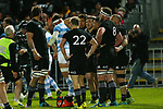 NELSON, NEW ZEALAND - SEPTEMBER 8: All Blacks v Argentina Trafalgar Park on September 8 2018 in Nelson, New Zealand. (Photo by:  Shuttersport Limited)
