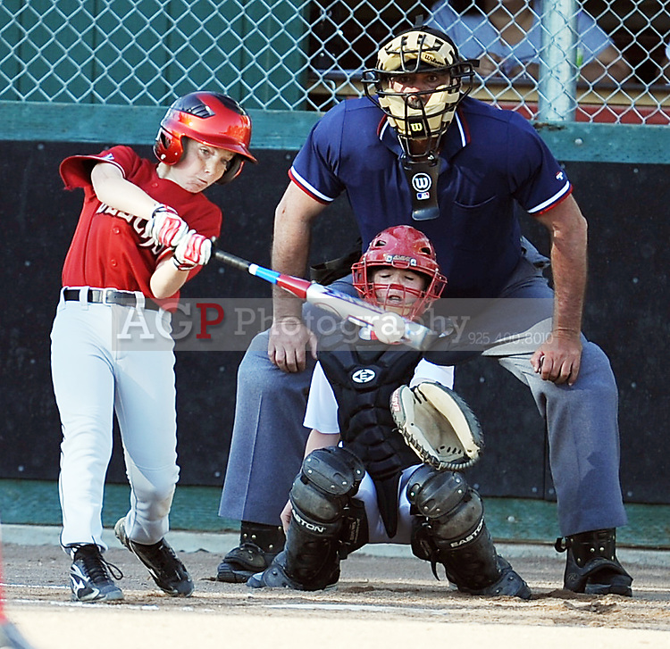 The Major Diamondbacks of Pleasanton National Little League  March 21, 2009.