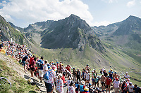 the crowd up the Tourmalet (HC/2115m/19km @7.4%)<br /> <br /> Stage 14: Tarbes to Tourmalet(117km)<br /> 106th Tour de France 2019 (2.UWT)<br /> <br /> ©kramon