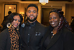 Desiree Townsend, Michael Smith and Kim Johnson during the 29th Annual Dr. Martin Luther King, Jr. Dinner Celebration at the Atlantis Casino Resort Spa in Reno, Monday night, Jan. 16, 2017.