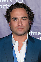 "BEVERLY HILLS, CA, USA - MARCH 26: Johnny Galecki at the 22nd ""A Night At Sardi's"" To Benefit The Alzheimer's Association held at the Beverly Hilton Hotel on March 26, 2014 in Beverly Hills, California, United States. (Photo by Xavier Collin/Celebrity Monitor)"