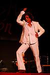 El bailador Manolete en Festival de Cante de las Minas de La Union. La Union. Murcia.