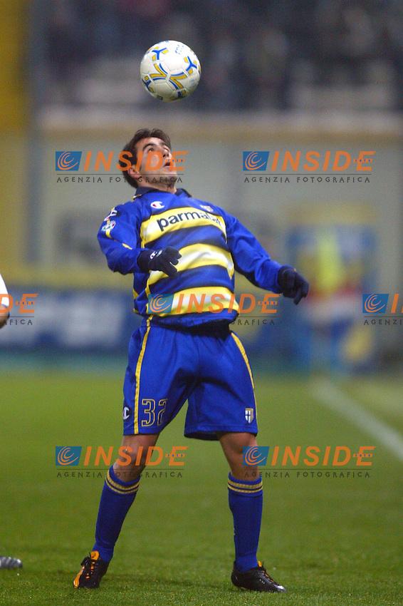Parma 10/1/2004<br /> Parma Inter 1-0<br /> Marco Marchionni (Parma)<br /> Photo Andrea Staccioli Insidefoto