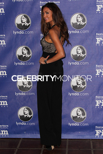 SANTA BARBARA, CA - FEBRUARY 06: Katie Cleary at the 29th Santa Barbara International Film Festival - Honoring Martin Scorsese And Leonardo DiCaprio With The Cinema Vanguard Award held at Arlington Theatre on February 6, 2014 in Santa Barbara, California. (Photo by Xavier Collin/Celebrity Monitor)