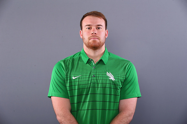 DENTON, TX MARCH 3: University of North Texas Mean Green Football v New Comers head shots at Apogee Stadium in Denton on March 3, 2018 in Denton, Texas (Photo: Rick Yeatts)