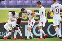 Esultanza gol Gerson goal celebration 1-2<br /> Firenze 05-11-2017 Stadio Artemio Franchi Calcio Serie A 2017/2018 Fiorentina - AS Roma Foto Filippo Rubin / Insidefoto
