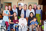 Hannah O'Shea Killarney celebrated her 104th birthday with her family at her home on Sunday front row l-r: Eileen O'Shea, Eoin O'Shea, Luke O'Shea and Emily Kramer  Caitlin Robinson, Maggie O'Shea, Eugene O'Shea, Nancy Robinson, Mary Byrne, Joan Moran, Frank Moran, Maureen Ní Fiall