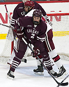 Ty Pelton-Byce (Harvard - 17), Paul Meyer (Colgate - 2) - The visiting Colgate University Raiders shut out the Harvard University Crimson for a 2-0 win on Saturday, January 27, 2018, at Bright-Landry Hockey Center in Boston, Massachusetts.