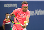 Rafael Nadal (ESP) defeated Dusan Lajovic (SRB) in the first two sets 7-6, 6-2