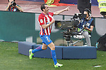 Atletico de Madrid's Diego Godin celebrates goal during La Liga match. March 19,2017. (ALTERPHOTOS/Acero)