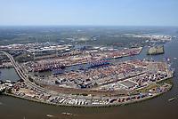 Containerterminal Hamburg: EUROPA, DEUTSCHLAND, HAMBURG, (EUROPE, GERMANY), 22.08.2018 Eurogate Container Terminal Hamburg GmbH und HHLA Container Terminal Burchardkai GmbH