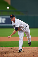 Surprise Saguaros pitcher Tyler Webb (36) delivers a pitch during an Arizona Fall League game against the Salt River Rafters on October 20, 2015 at Salt River Fields at Talking Stick in Scottsdale, Arizona.  Surprise defeated Salt River 3-1.  (Mike Janes/Four Seam Images)