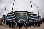 A general view of the Etihad Stadium during the Champions League Quarter Final 2nd Leg match at the Etihad Stadium, Manchester. Picture date: 10th April 2018. Picture credit should read: David Klein/Sportimage