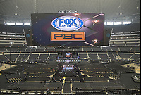 DALLAS, TX - MARCH 16: Atmoshpere at the Errol Spence Jr. vs Mikey Garcia IBF  World Welterweight Championship fight at the Fox Sports PBC Pay-Per-View fight night at AT&T Stadium on March 16, 2019 in Dallas, Texas. (Photo by Frank Micelotta/Fox Sports/PictureGroup)